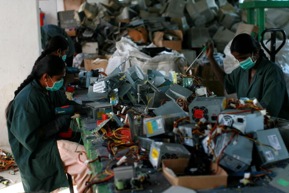 Industry「India Has Growing Problem Of Electronic Waste」:写真・画像(0)[壁紙.com]