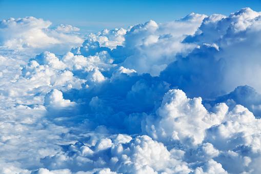 Airplane「Clouds Aerial View」:スマホ壁紙(15)
