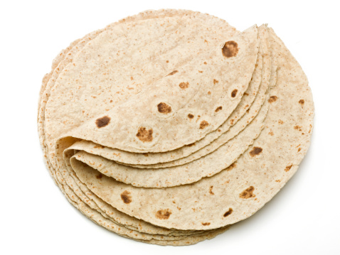 Tortilla - Flatbread「Lot of whole wheat flour mexican tortillas」:スマホ壁紙(10)