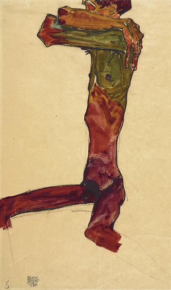 Painted Image「Male Nude 1910」:写真・画像(19)[壁紙.com]