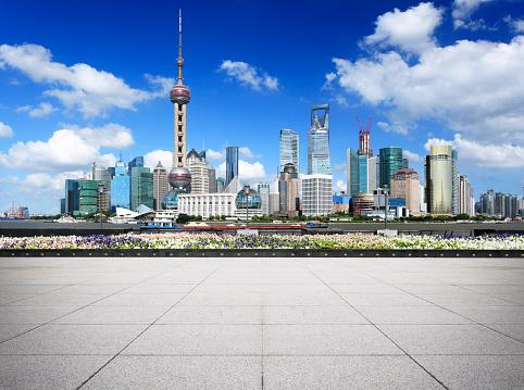 The Bund「Shanghai Skyscraper」:スマホ壁紙(19)