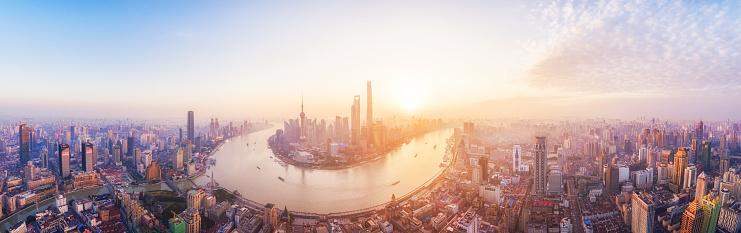 Shanghai「Shanghai Skyline」:スマホ壁紙(5)