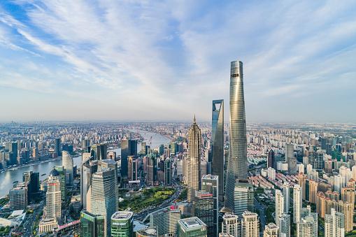 The Bund「Shanghai Skyline」:スマホ壁紙(16)