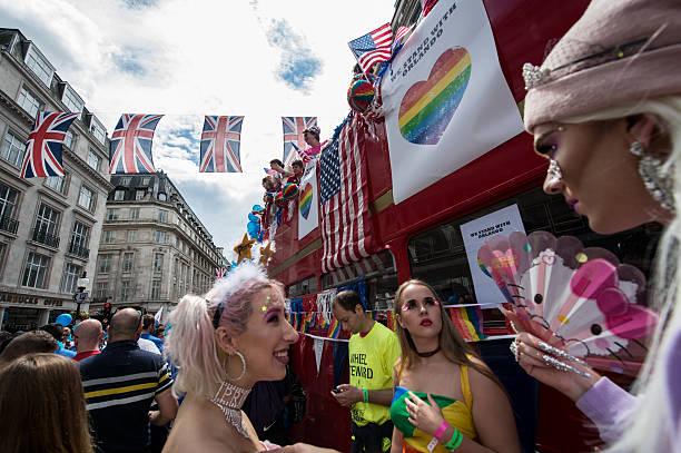 The LGBT Community Celebrates Pride In London:ニュース(壁紙.com)