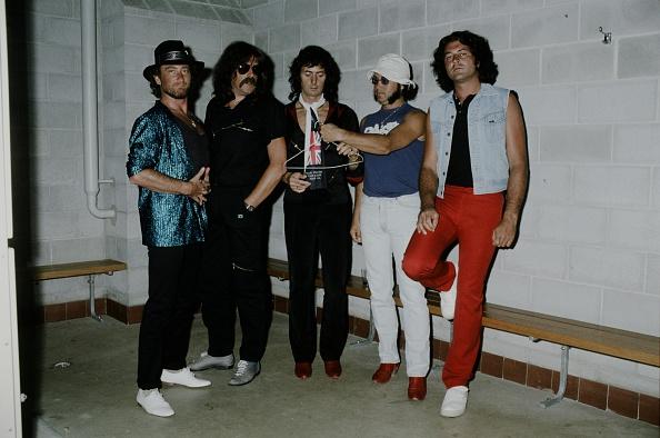 Deep Purple - Band「Deep Purple In Backstage On Perfect Strangers Tour In Australia」:写真・画像(7)[壁紙.com]