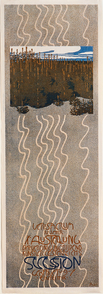 Chromolithograph「Poster For The 10Th Exhibition Of The Vienna Secession」:写真・画像(19)[壁紙.com]