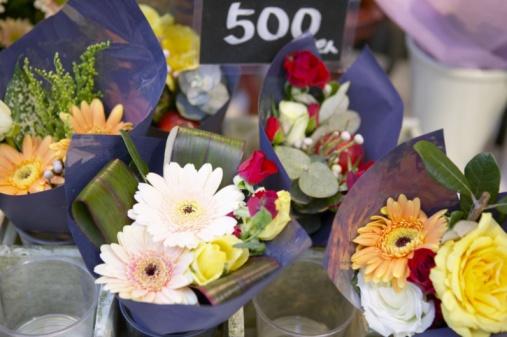 Flower Shop「Bouquets in flower shop」:スマホ壁紙(8)