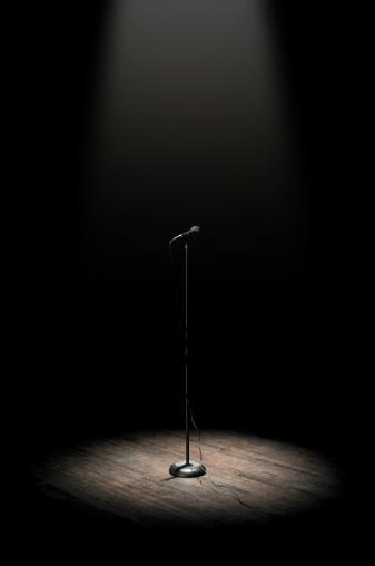 Spotlight「Stage Microphone」:スマホ壁紙(6)