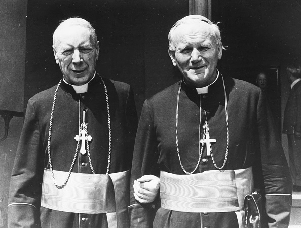 Archbishop「Cardinals Wyszynski And Wojtyla」:写真・画像(10)[壁紙.com]