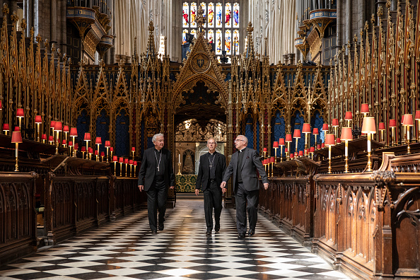 Westminster Abbey「UK Heads Of The Christian Church Pray Together As Churches Reopen After Coronavirus Lockdown」:写真・画像(8)[壁紙.com]