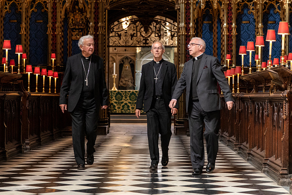 Westminster Abbey「UK Heads Of The Christian Church Pray Together As Churches Reopen After Coronavirus Lockdown」:写真・画像(14)[壁紙.com]