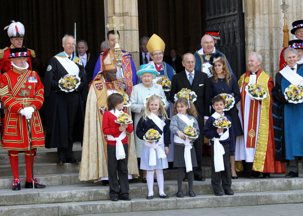 John Sentamu「Queen Elizabeth II Visits York For The Royal Maundy Service」:写真・画像(10)[壁紙.com]