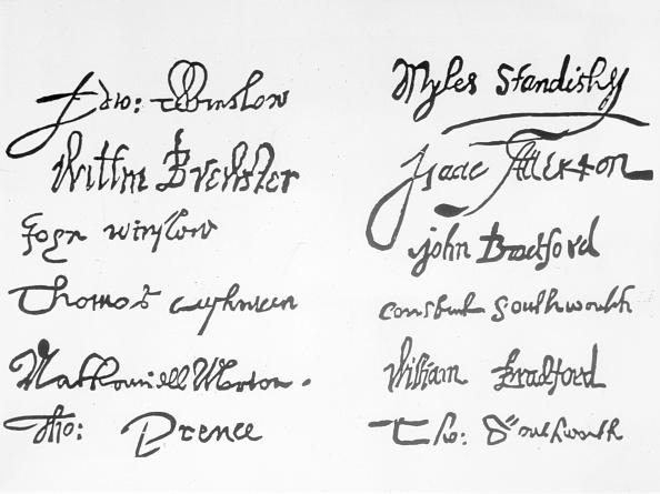 17th Century「Pilgrim Signatures」:写真・画像(10)[壁紙.com]