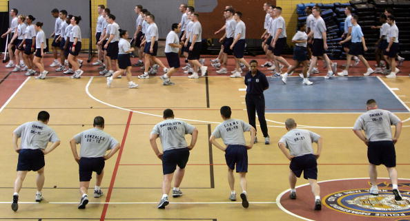 Sports Training「Recruits Train As NYPD Plans Major Expansion」:写真・画像(13)[壁紙.com]