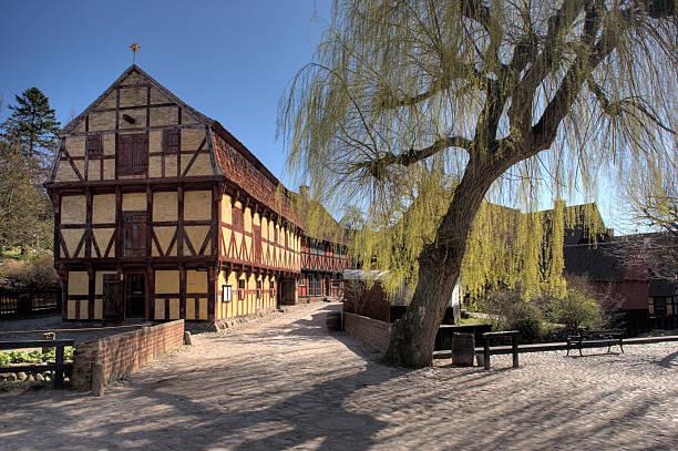 Old houses in Denmark:スマホ壁紙(壁紙.com)