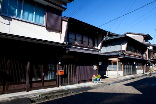 Edo Period「Old Houses in Gujo」:スマホ壁紙(11)