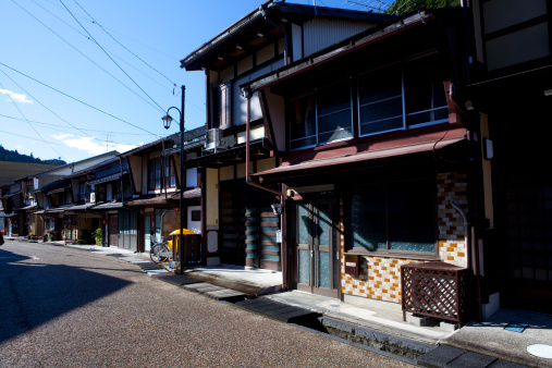 Edo Period「Old Houses in Gujo」:スマホ壁紙(6)