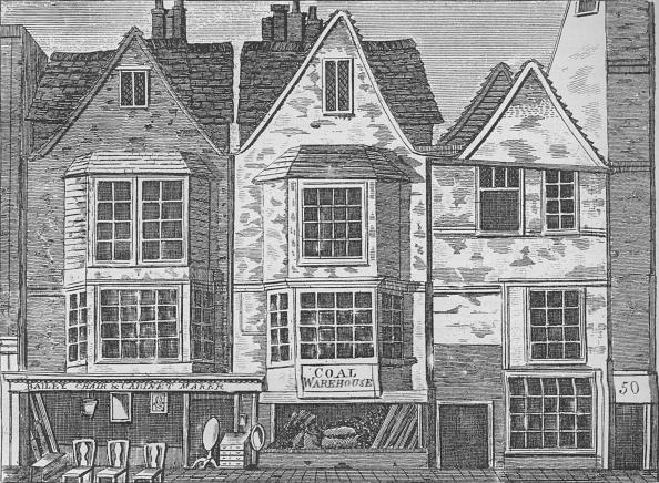 Row House「Old houses in St John Street, Clerkenwell, London, c1811 (1911)」:写真・画像(18)[壁紙.com]