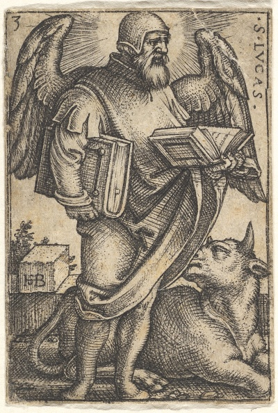 Profile View「Plate 3: Saint Luke With His Head Turned In Profile To The Right」:写真・画像(11)[壁紙.com]