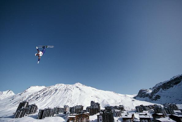 Skiing「XVI Olympic Winter Games」:写真・画像(6)[壁紙.com]