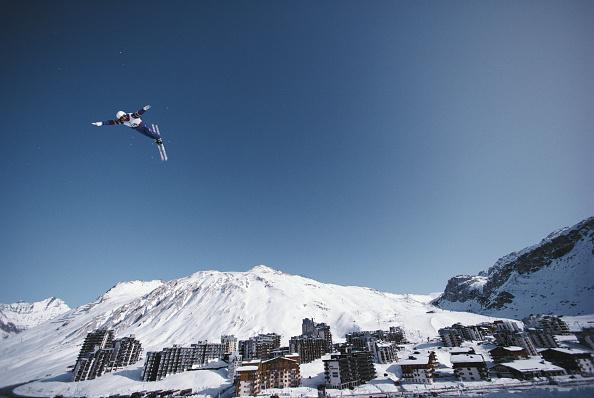 Skiing「XVI Olympic Winter Games」:写真・画像(7)[壁紙.com]