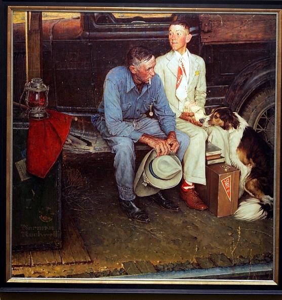 絵「Missing Norman Rockwell Painting Found After 35 Years」:写真・画像(15)[壁紙.com]