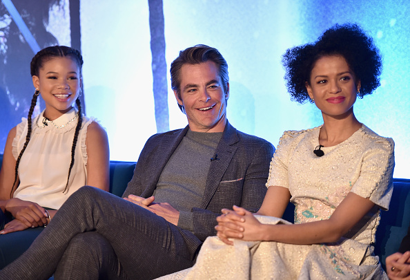 A Wrinkle in Time「'A Wrinkle In Time' Press Conference」:写真・画像(13)[壁紙.com]