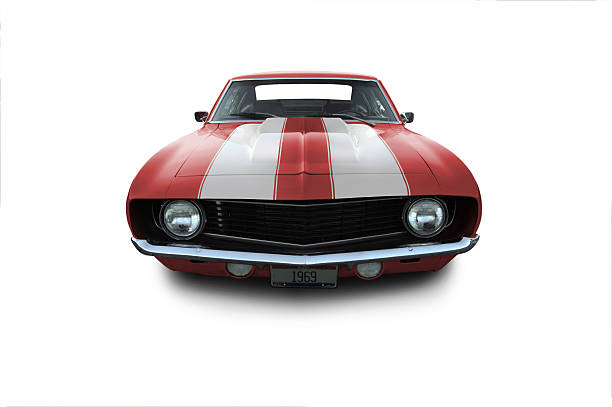 Red 1969 Camaro Muscle Car:スマホ壁紙(壁紙.com)