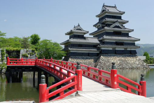 Temple「Castle of Matsumoto, Matsumoto city, Nagano Prefecture, Japan」:スマホ壁紙(18)
