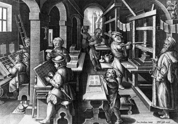 16世紀のスタイル「Printing Press」:写真・画像(8)[壁紙.com]