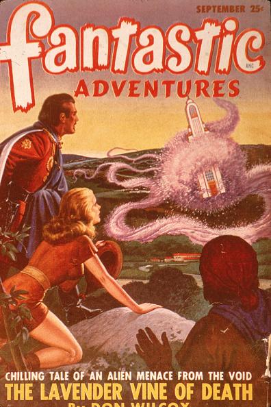 Magazine - Publication「Cover Of 'Fantastic Adventures' Magazine」:写真・画像(10)[壁紙.com]