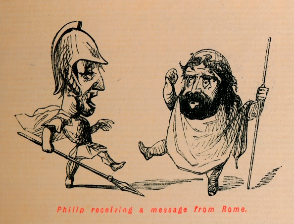 Cartoon「Philip Receiving A Message From Rome」:写真・画像(11)[壁紙.com]