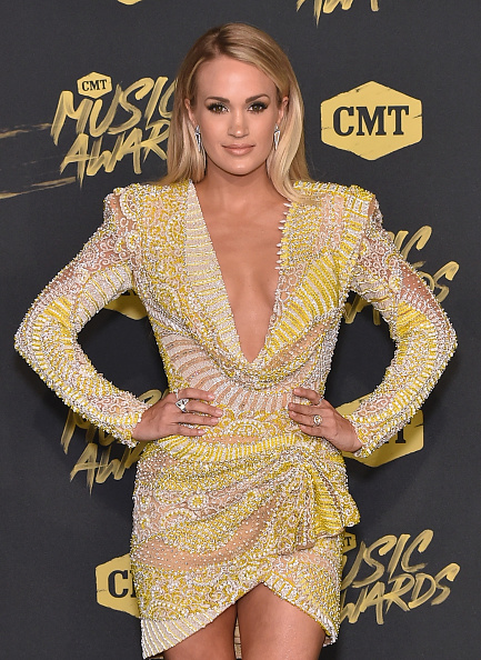 Carrie Underwood「2018 CMT Music Awards - Arrivals」:写真・画像(5)[壁紙.com]