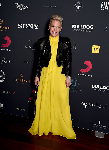 Pink - Singer「Sony Host BRIT awards After Party At aqua shard」:写真・画像(10)[壁紙.com]