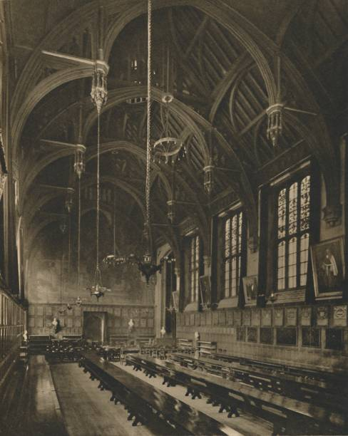Within The Magnificent Hall Of Lincolns Inn C:ニュース(壁紙.com)