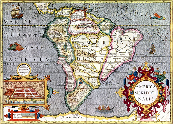 17th Century「Map of South America」:写真・画像(16)[壁紙.com]