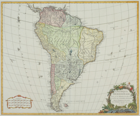 Latitude「Map of South America」:スマホ壁紙(9)