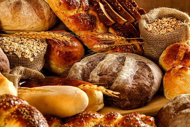 Artisanal bakery:  Fresh mixed Bun, rolls and Sourdough Bread:スマホ壁紙(壁紙.com)