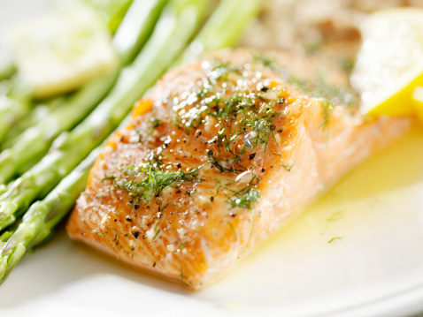 Dill「Grilled Salmon with Fresh Dill」:スマホ壁紙(8)