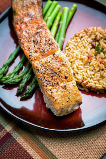 Grilled Salmon「Grilled Salmon Filet Dinner」:スマホ壁紙(13)
