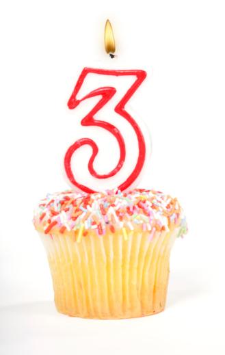 Birthday「Cupcake Number Candle」:スマホ壁紙(13)