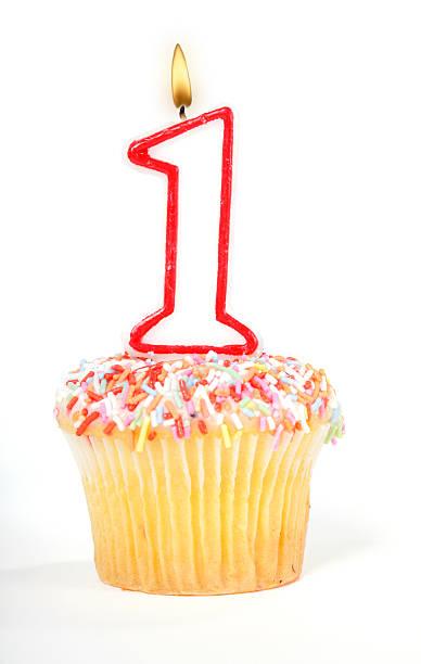 Cupcake Number Candle:スマホ壁紙(壁紙.com)