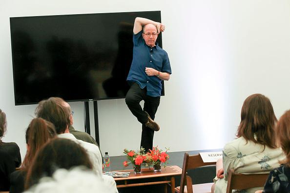 ピューリッツァー賞「Jerry Saltz, Pulitzer Prize-Winning New York Magazine Senior Art Critic, Gives A Talk At The 2018 Frieze Art Fair」:写真・画像(0)[壁紙.com]