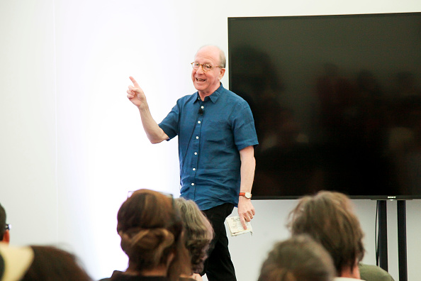 ピューリッツァー賞「Jerry Saltz, Pulitzer Prize-Winning New York Magazine Senior Art Critic, Gives A Talk At The 2018 Frieze Art Fair」:写真・画像(14)[壁紙.com]
