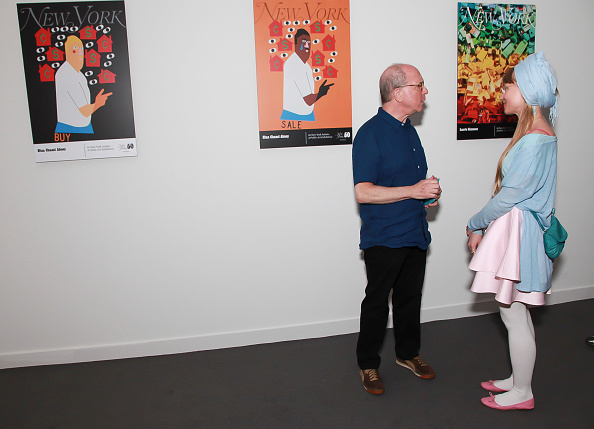 ピューリッツァー賞「Jerry Saltz, Pulitzer Prize-Winning New York Magazine Senior Art Critic, Gives A Talk At The 2018 Frieze Art Fair」:写真・画像(13)[壁紙.com]