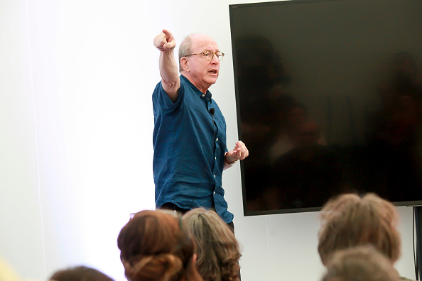 ピューリッツァー賞「Jerry Saltz, Pulitzer Prize-Winning New York Magazine Senior Art Critic, Gives A Talk At The 2018 Frieze Art Fair」:写真・画像(0)[壁紙.com]