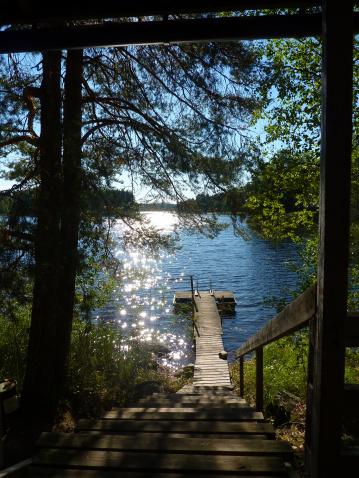 Finland「Finland, Savonia, Mikkeli, One of thousand lakes in summer」:スマホ壁紙(11)