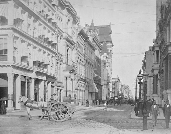 19th Century「Chestnut Street」:写真・画像(15)[壁紙.com]