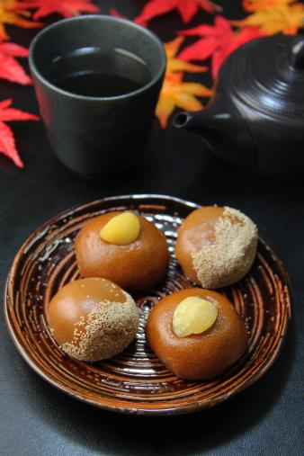 栗「Chestnut steamed buns」:スマホ壁紙(1)