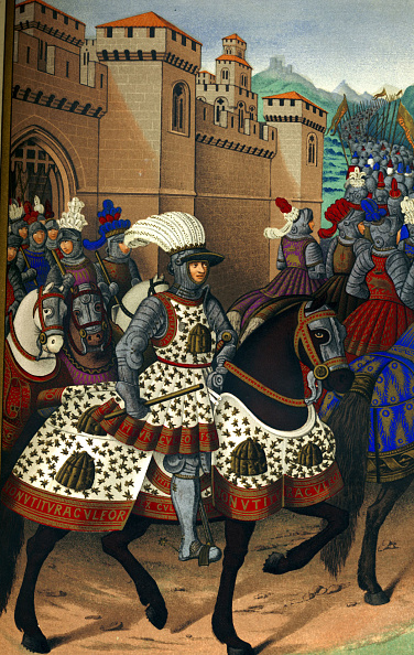 City Life「Louis XII - portrait of the French king on horseback leaving the city of Alexandria to conquer Genoa, 24 April 1507.」:写真・画像(13)[壁紙.com]